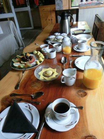 Peak Sport Chalet : Breakfast
