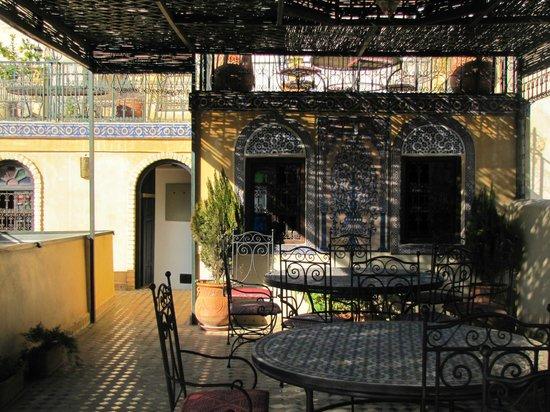 Riad Rcif: terrasse