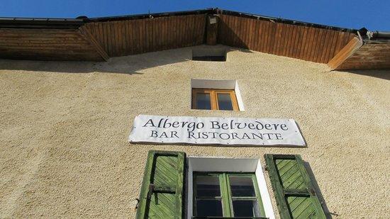 Chiomonte, Italie : Ristorante Belvedere