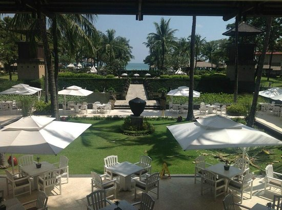 INTERCONTINENTAL Bali Resort: From reception looking out towards the beach