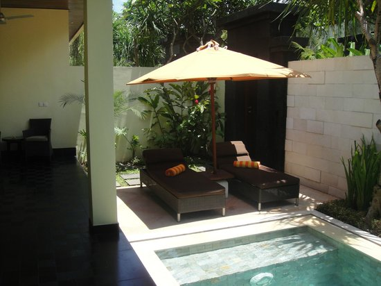 Sun Island Boutique Villas & Spa: DELUXE VILLA COURTYARD