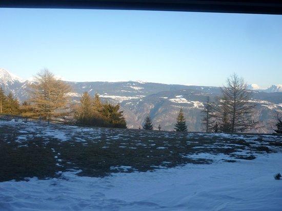 Vigilius Mountain Resort: Blick aus dem Zimmer