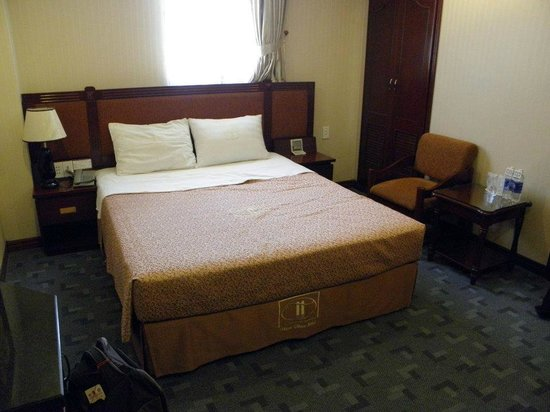 Thien Thao Hotel Ho Chi Minh City : The beds.
