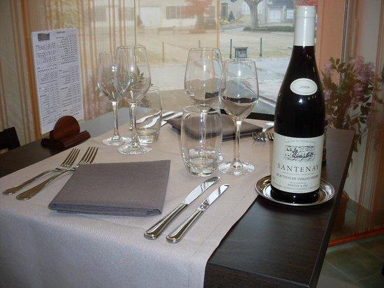 L'Etape de Santenay Hôtel Café Restaurant : Restaurant