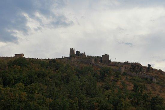Monte Asprano: La rocca