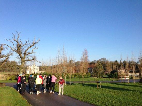 Hillmotts Fitness Retreat : Day 2 Fitness!