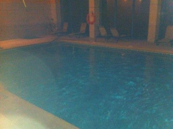 Hotel La Fuente del Sol: la piscina de agua salada