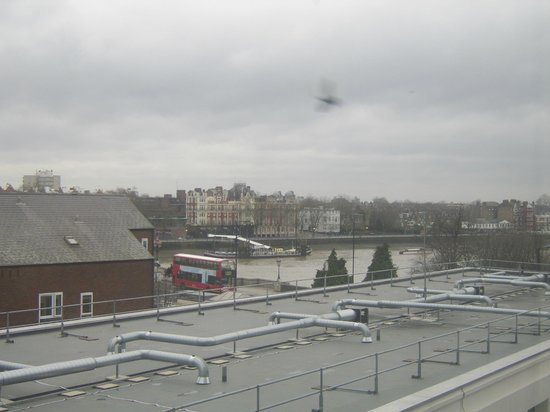 Premier Inn London Putney Bridge Hotel : panorama dalla camera