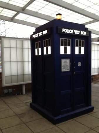 BBC Television Centre: Tardis (time and relative dimension in space)