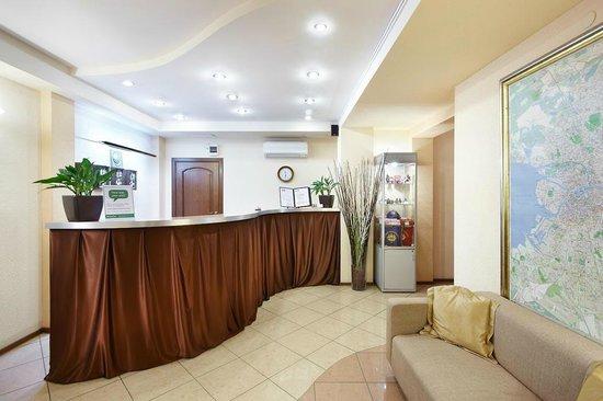 Palantin Hotel: Reception