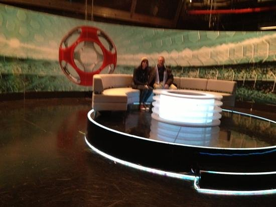 BBC Television Centre: MOTD - the famous sofa