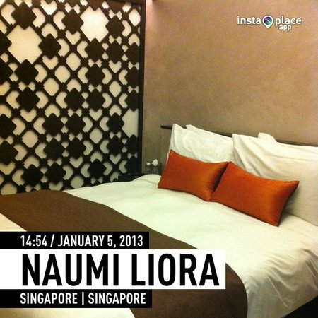 Naumi Liora: smallest size of room here