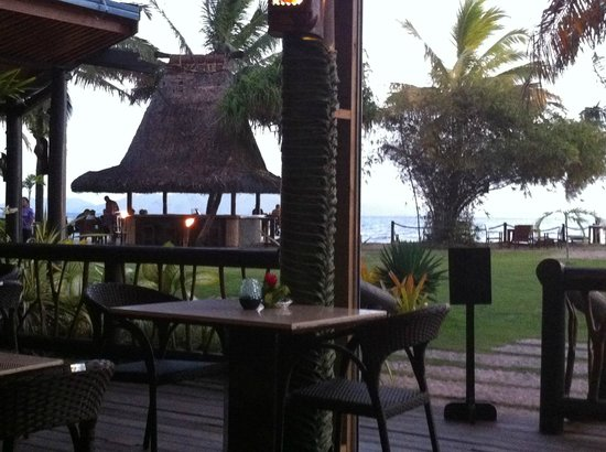 Uprising Beach Resort: View from dinner