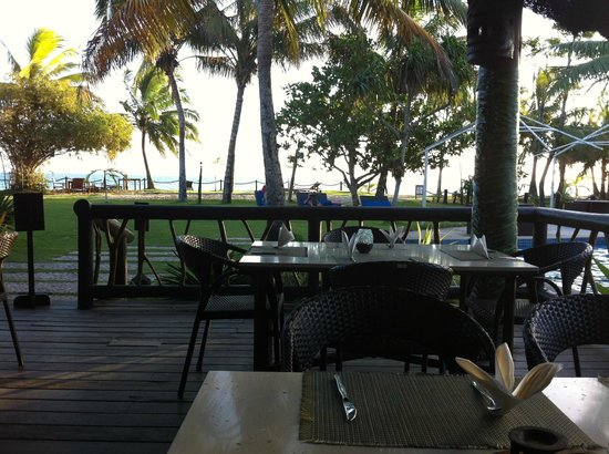 Uprising Beach Resort: View from restaurant