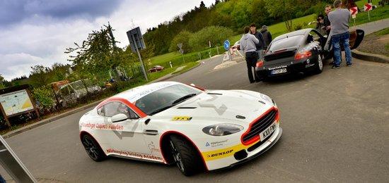 Nurburgring Aston Martin Co Pilot Ride: Super cool, super fast....