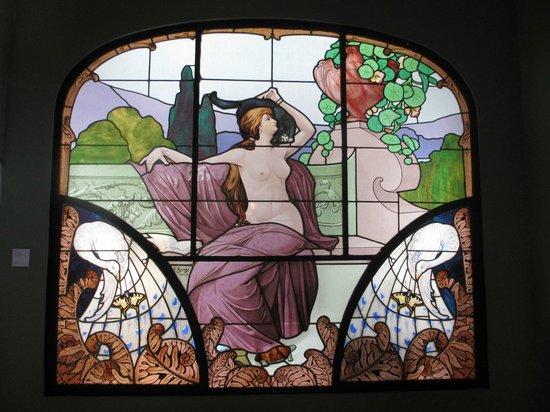 Musée de l'École de Nancy : ステンドグラス(一例)
