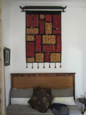 La Villa Belle Ombre : nostra camera, piccolina ma molto bella