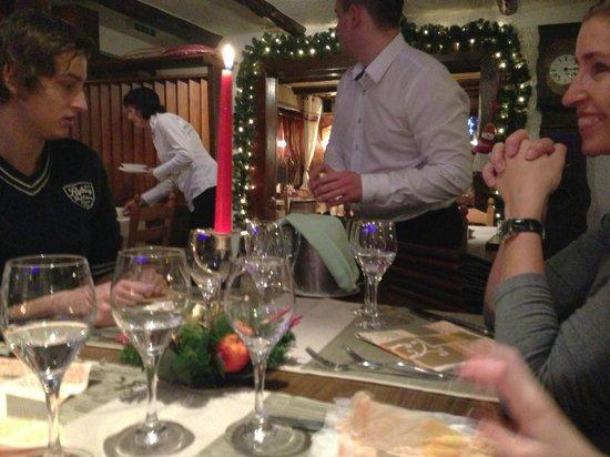 Hotel La Cambuse : Diner