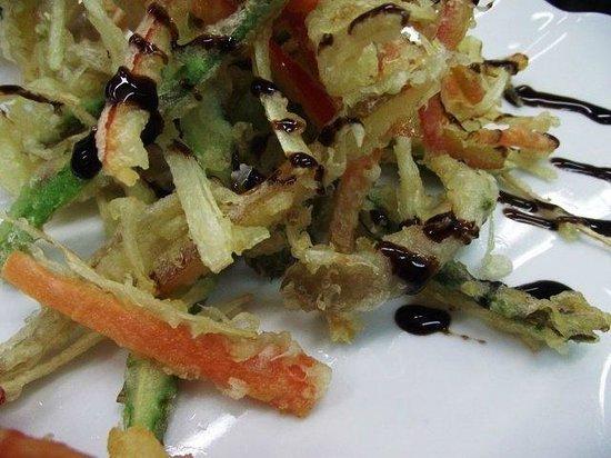 Arizia: Tempura de verduras