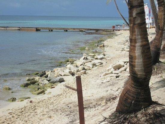 Catalonia Gran Dominicus: vue de la plage cote droit en regardant la mer