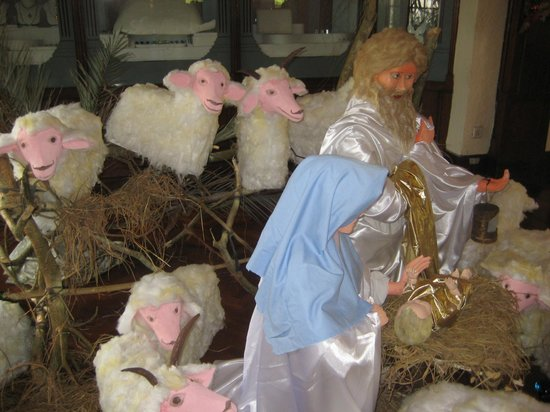 Hotel Suisse: Christmas decos