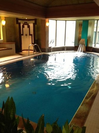 Kempinski Hotel Corvinus Budapest: lovely pool