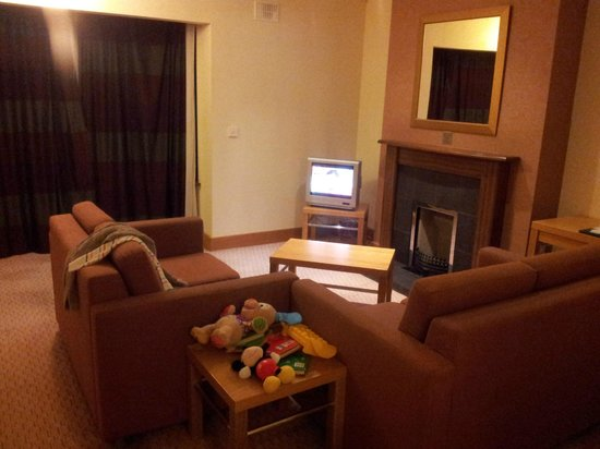 Great National Ballykisteen Golf Hotel: Living room