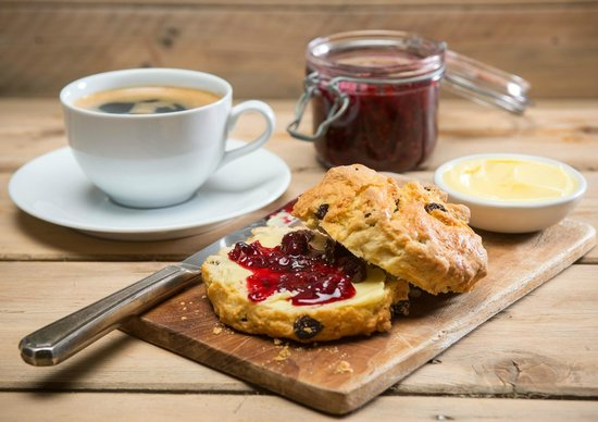 Kilkenny Cafe and Restaurant: Bakers Deal €3.85 - Scone & Tea/Coffee