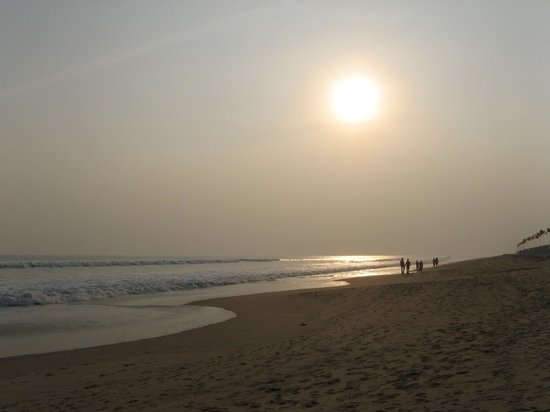 Konark, Ινδία: Sunset at Chandrabhaga Beach