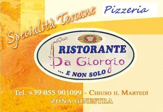 Ristorante Pizzeria Da Giorgio... e Non Solo: da giorgio