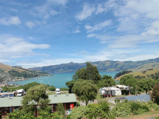 Akaroa TOP 10 Holiday Park: View from the room