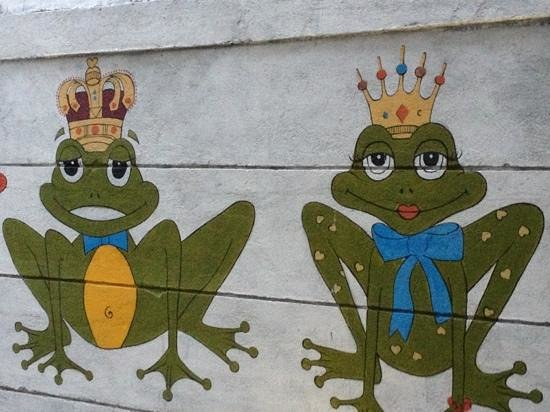The Smiling Frog: лягухи