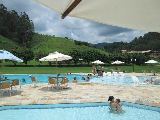 Fazenda Ribeirao Hotel De Lazer: Vista da piscina
