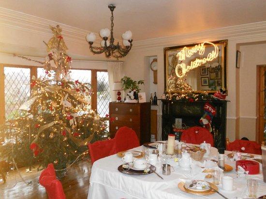 Glenshandan Lodge: la salle à manger