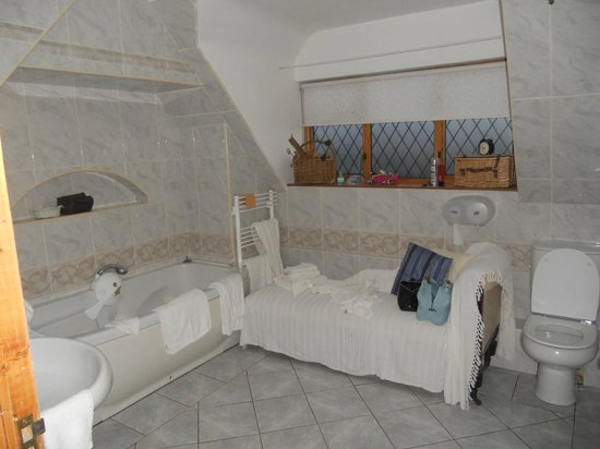 Glenshandan Lodge: la salle de bain de la grande chambre