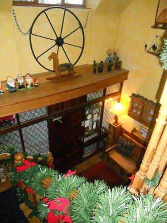 Glenshandan Lodge: hall d'entrée