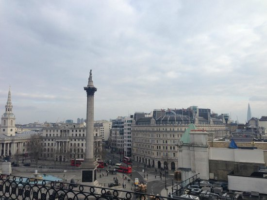The Trafalgar Hotel: View from the hotel (Vista bar)