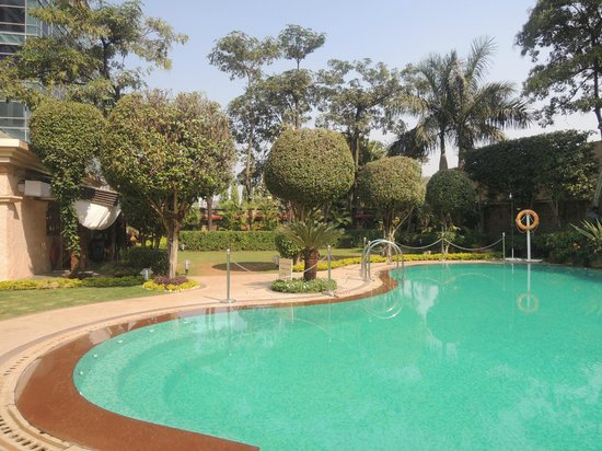 Hilton Mumbai International Airport: Poolside