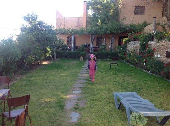 Dar Zitoune: Coté jardin