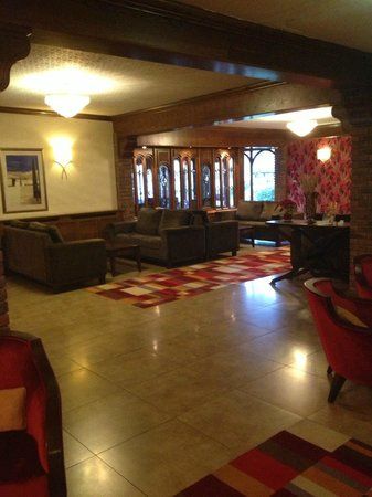 Auburn Lodge Hotel & Leisure Centre: the lobby where i had meeting