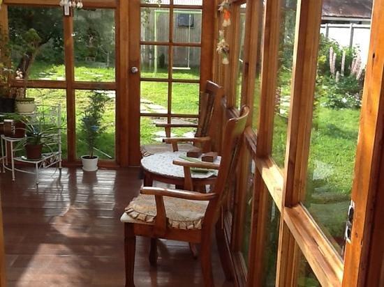 Hostal Labarca : La terraza del hostal