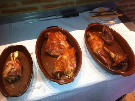 Taperia El Arenal : asado
