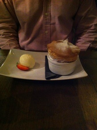 The Boot Room Restaurant: Wonderful pudding