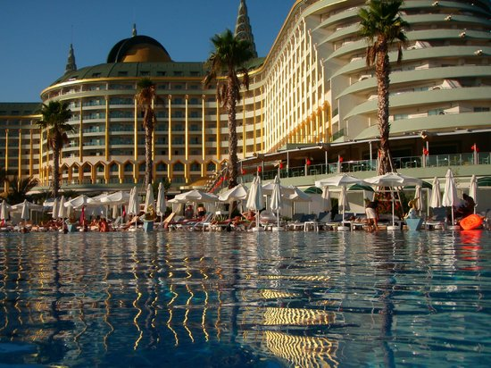 Delphin Imperial Hotel Lara: From the pool