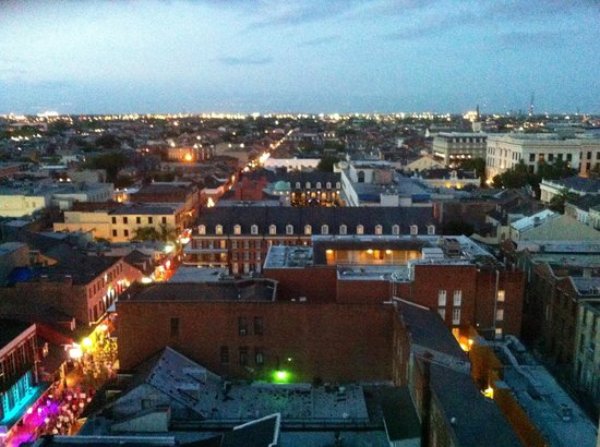 Crowne Plaza Hotel Astor-New Orleans: View from room