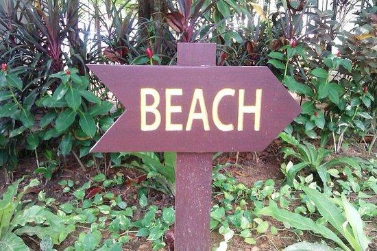Marriott's Mai Khao Beach: Wegweiser zum Strand
