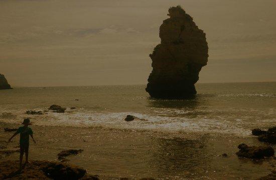 Praia marinha:                   Some amazing scenery