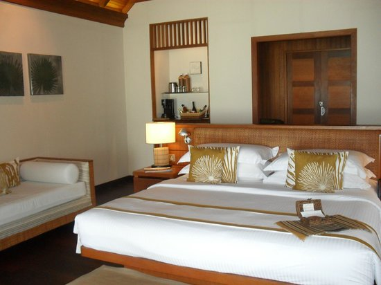 Baros Maldives: our villa