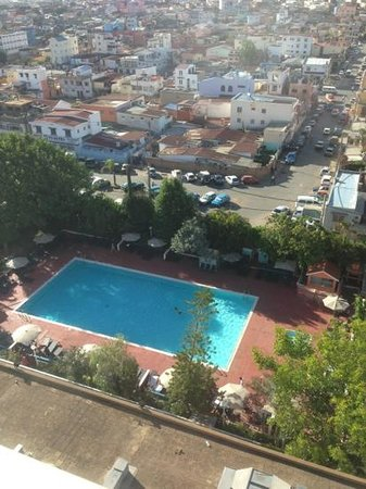 Hotel Carlton Antananarivo Madagascar: la piscine 