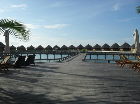 Baros Maldives: the water villas
